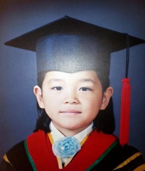 キムセジョンの幼稚園時代の写真
