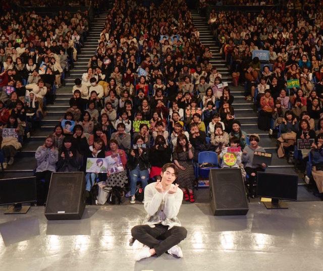 ナムジュヒョクの日本ファンミーティング