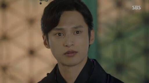 ワンウォンを演じるユンソヌ