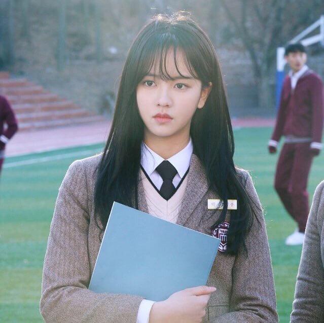 パク・ソユン役のキム・ソヒョン