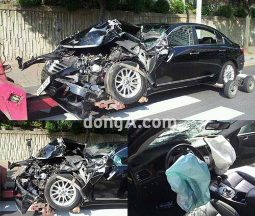 イミンホの交通事故