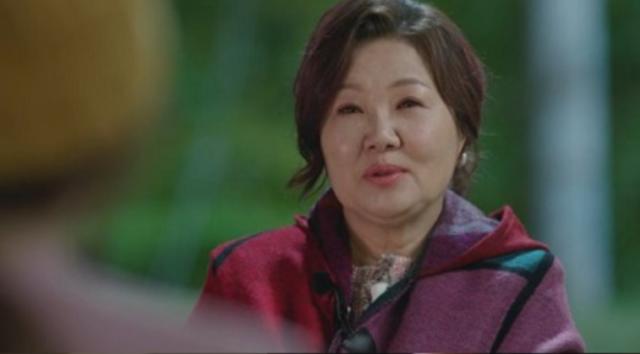 ソニョ役のキムヘスク