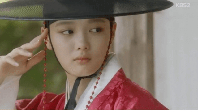 ラオン役のキムユジョン