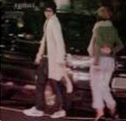 コンユとユンウネと思われるデート写真