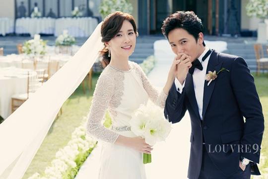 チソンとイボヨンの結婚式