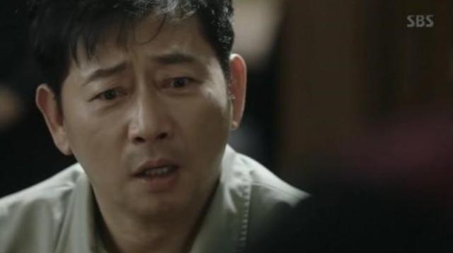 ジェヒョク役のチョングァンリョル
