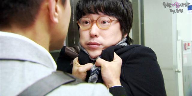 オヒョク役のオムギジュン