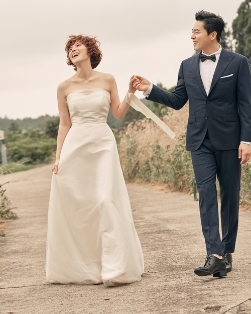 結婚式でのチョジョンソクとGUMMY②