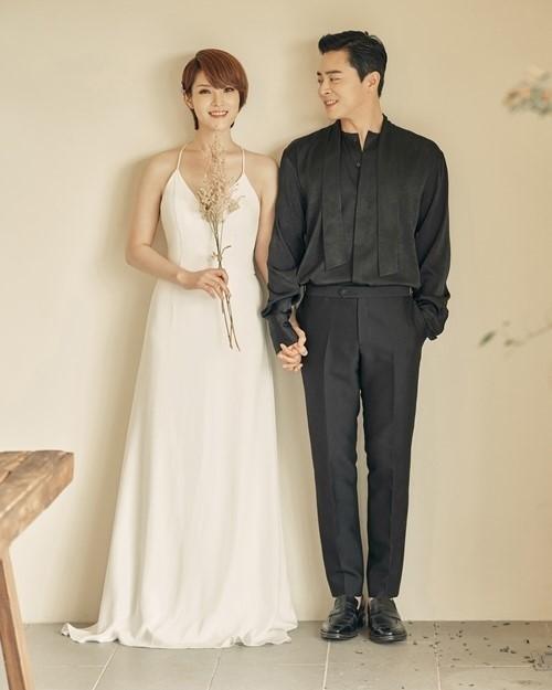 結婚式でのチョジョンソクとGUMMY③