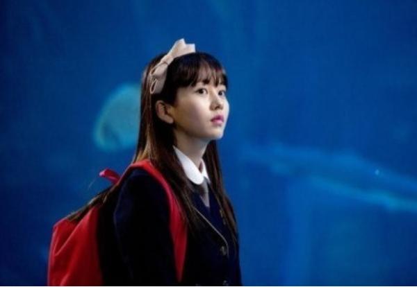 ウンソル役のキムソヒョン