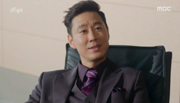 ジョンフン役のキムヨンピル
