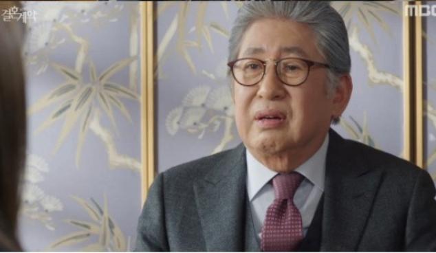 ハン会長役のキムヨンゴン