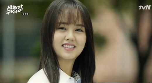 『キスして幽霊!』でキムヒョンジ役を演じたキムソヒョン