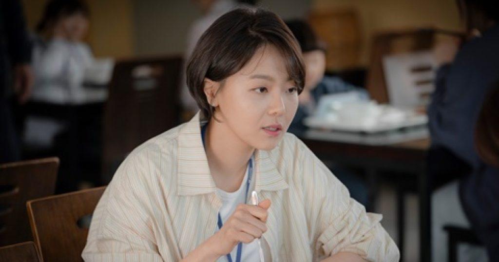 ヨンジュ役のイサンヒ
