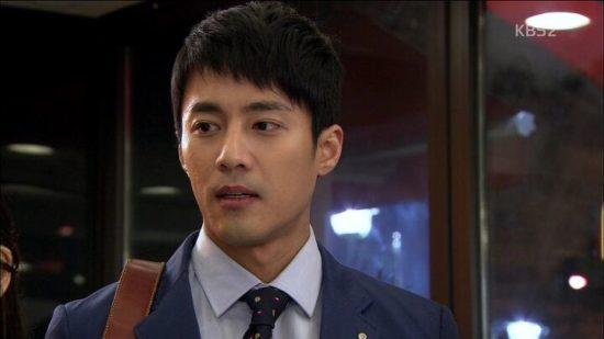 チャヌ役のコジュウォン