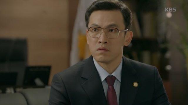 チェ・ヒョンジュン役のユ・オソン
