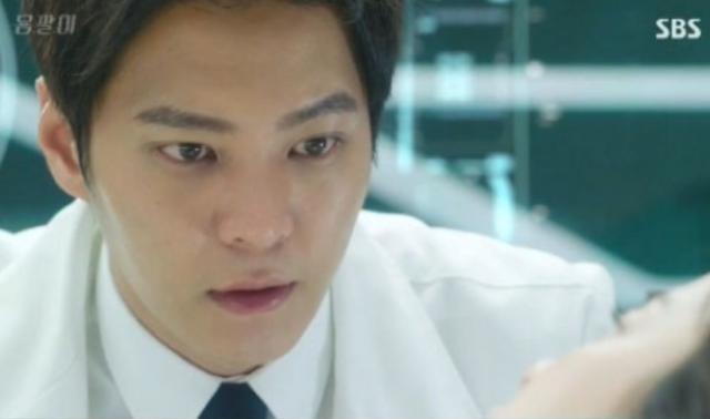 テヒョン役のチュウォン