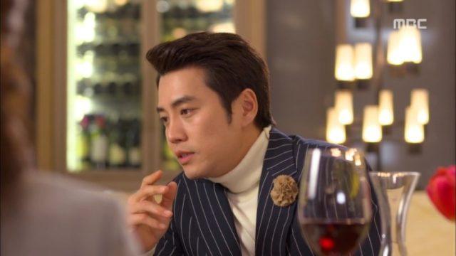 ハ・ジョンウ役のチュ・サンウク