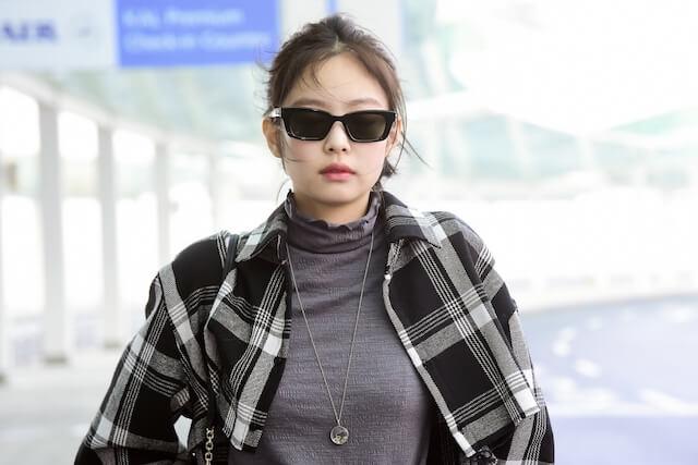 BLACKPINKジェニの空港ファッション