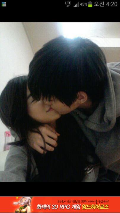 テテとツウィのキス疑惑写真