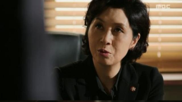 ソヒ役のキムヘオク