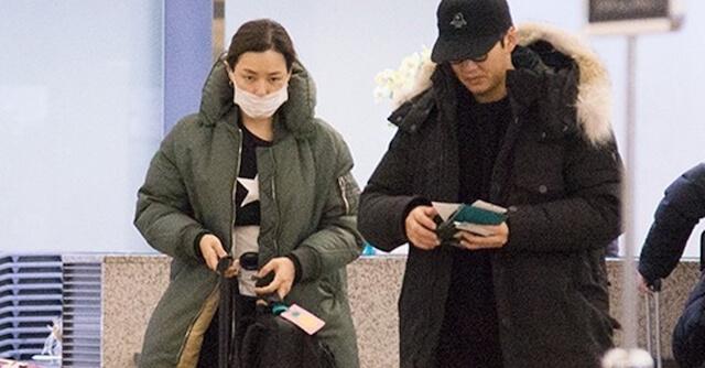 日本旅行に行くユンゲサンとイハニ