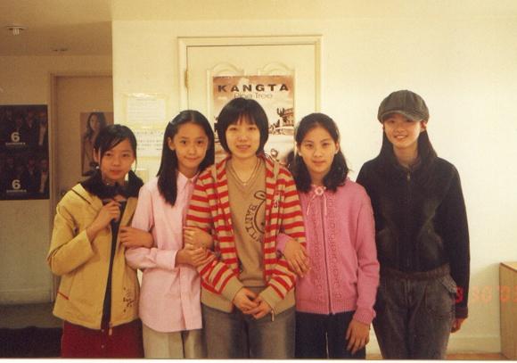 ユナの練習生時代の写真