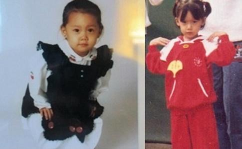 ユナの幼稚園時代の写真