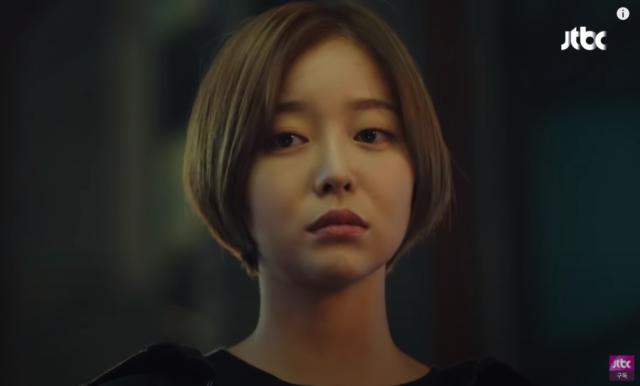 ヒョンジュ役のキムガウン