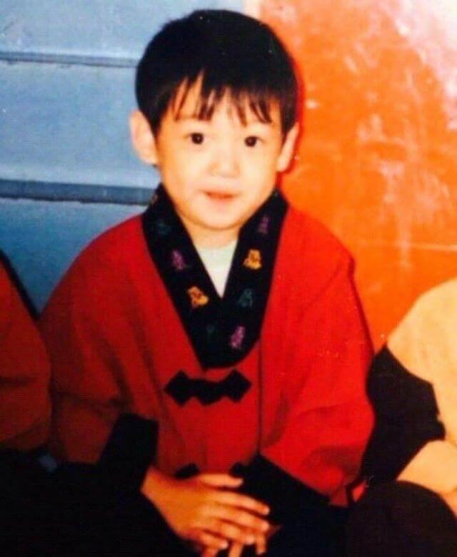 幼い頃のジョングク