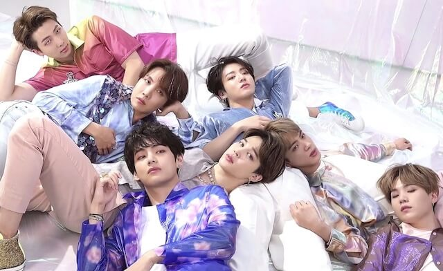 BTSメンバーの絵文字