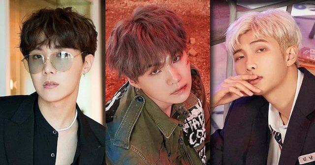 BTSのラップラインメンバー