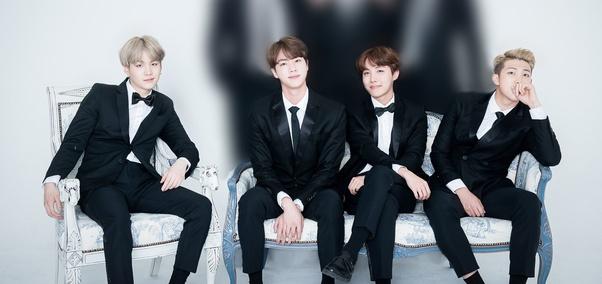 BTSのヒョンラインの4人
