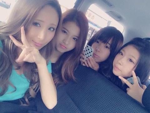 サナの親友4姉妹