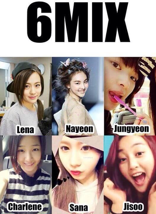 6MIXでデビュー予定だったサナとジヒョ
