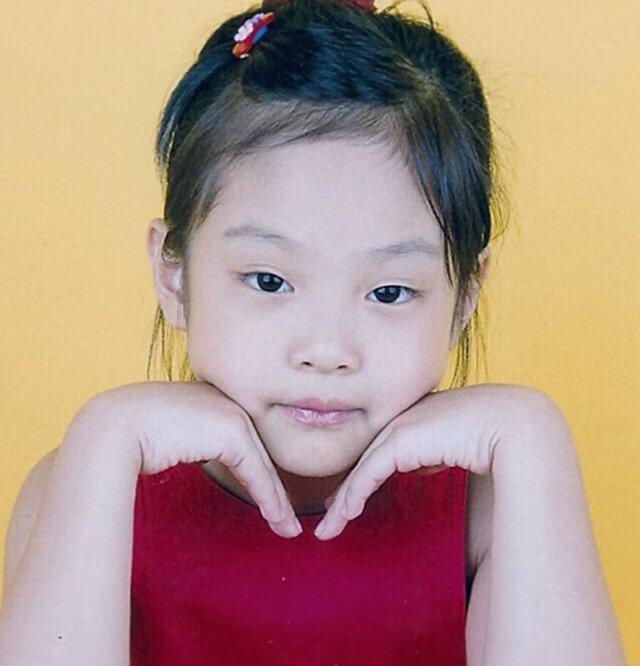 ジェニの幼少期1