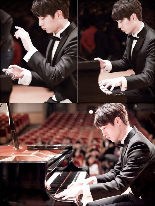 元ピアニストと演じるソガンジュン