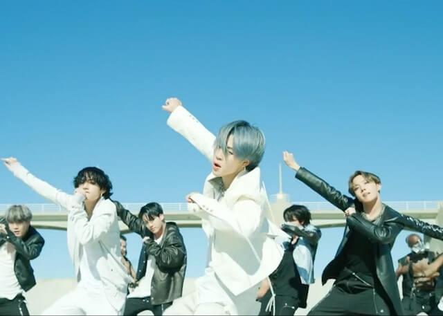 BTSのONのダンス