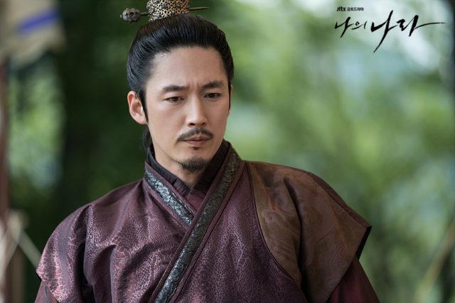 バンウォン役のチャンヒョク