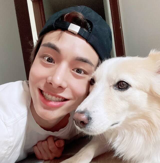 ENHYPENジェイクと愛犬のレイラ