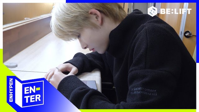 韓国語を勉強するENHYPENニキ
