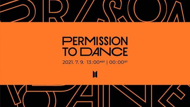 BTSのPermission to Dance